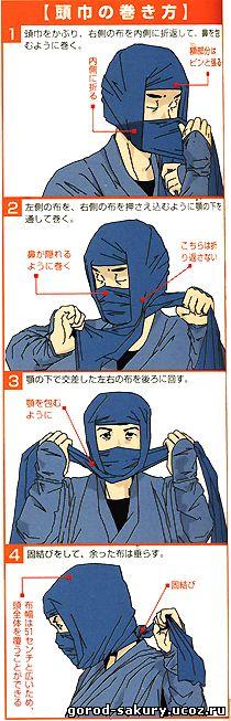 Как сделать маску из футболки