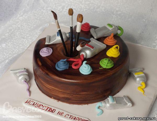 Поздравление художнику с днем рождения картинки