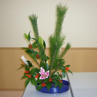 Икебана из цветов своими руками в школу